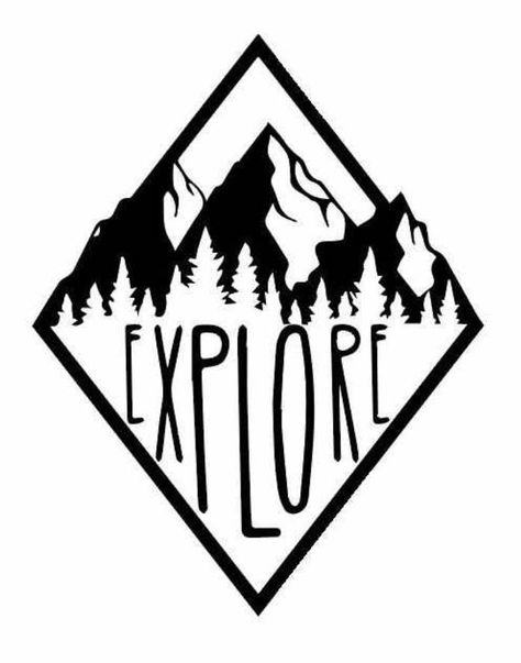 Items similar to Sale Explore vinyl decal for cars walls tumblers cups laptops windows Home Laptop Computer Truck Car phone Bumper Sticker Decal on Etsy Cricut Vinyl, Cricut Craft Room, Vinyl Decals, Cute Car Decals, Car Window Decals, Wall Decals, Silhouette Cameo Projects, Silhouette Design, Silhouette Vinyl