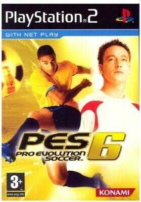 Pro Evolution Soccer 6 Sony Playstation 2 2006 European Version For Sale Online Ebay In 2021 Pro Evolution Soccer Evolution Soccer Playstation 2
