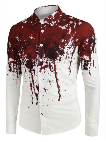 Blood Splatter On Clothes : blood, splatter, clothes, Clothing