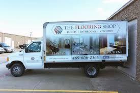 The Flooring Shop Box Truck Wrap Flooring Shops Flooring Companies Flooring