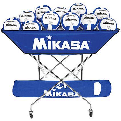 Volleyball Carts Hammocks Mikasa Collapsible Ball Hammock Volleyballs Mikasa Volleyball Gear