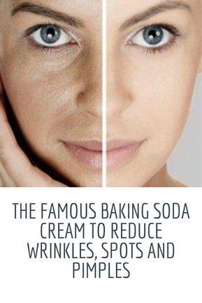 Famous Baking Soda Cream Yo Remove Wrinkles White Black Heads More Skin Care Wrinkles Face Skin Care Face Wrinkles