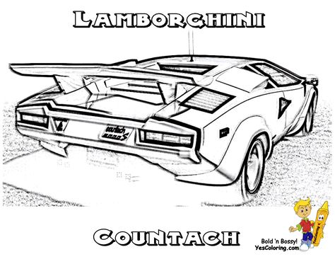 free coloring page lamborghini countach lamborghini pinterest lamborghini and cars