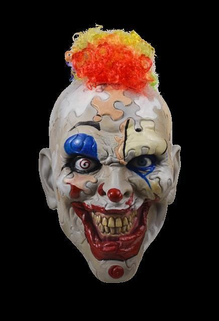 Puzzle Face Mask American Horror Story AHS Cult Halloween Costume Clown Evil New