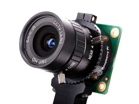 6mm 3MP Wide Angle Lens for Raspberry Pi HQ Camera [3MP] ID: 4563 - $25.00 : Adafruit Industries, Unique  fun DIY electronics and kits