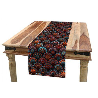 East Urban Home Moroccan Table Runner Moroccan Table Table