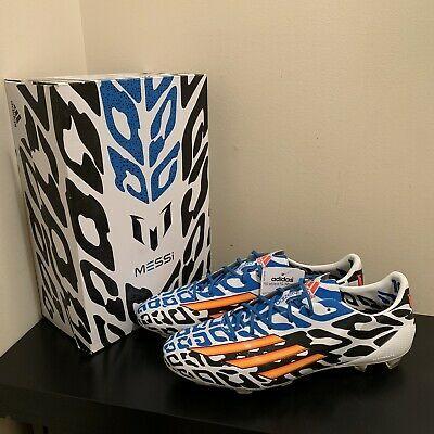 Adidas F50 Adizero Fg Messi World Cup 2014 Edition Soccer Boots Us 10 M19855 In 2020 Messi World Cup Soccer Boots World Cup 2014