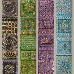 Specchi In Mosaico Di Dusciana Bravura Mosaicos Murales Mosaiquismo