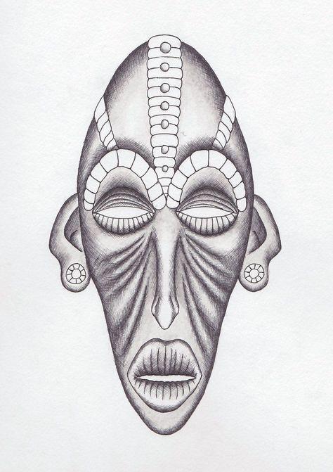 Tribal Vector Images silhouette Clip Art African Tribal Masks SVG Bundle Png DXF ClipArt africa Aztec masks SVG Files For Cricut -Eps