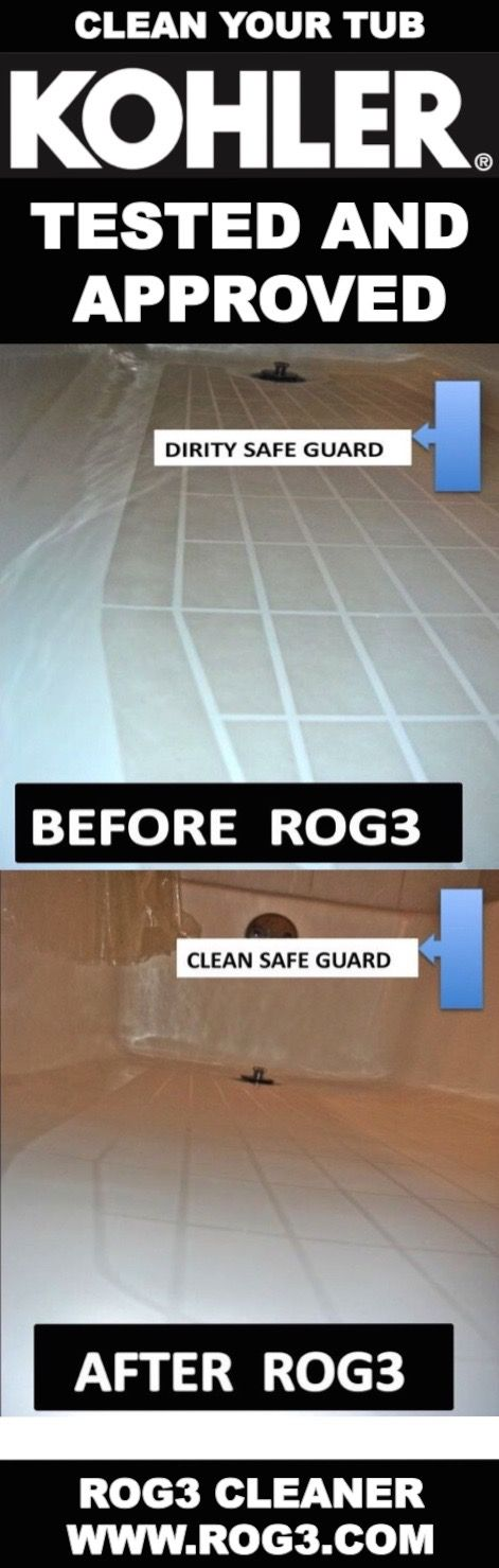 Came Clean With The Rog3 Bathtub Cleaner | Amazing Bath Tub, Shower Tile  And Glass Cleaner | Pinterest | Bathtub Cleaner
