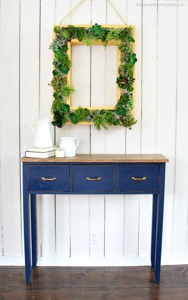 DIY Succulent Frame - Creative DIY Wall Decor Ideas - Photos