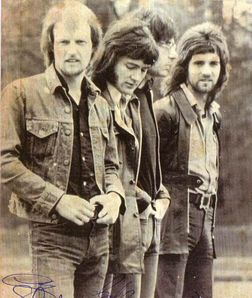 Manfred Mann's Earth Band.  Song:  Blinded by the Light.  It was very hard for me to choose between that and The Mighty Quinn, though.