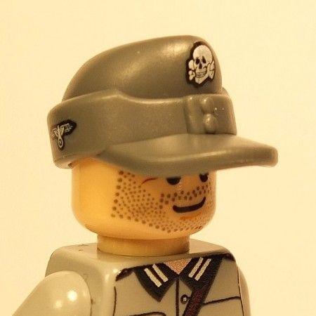 Tan Marine Hat Cap for LEGO army military brick minifigures