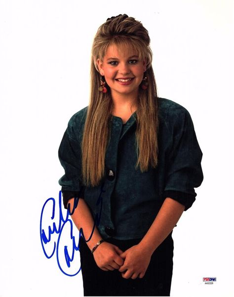 Candace Cameron Bure Signed Full House 11x14 Photo Dj Tanner