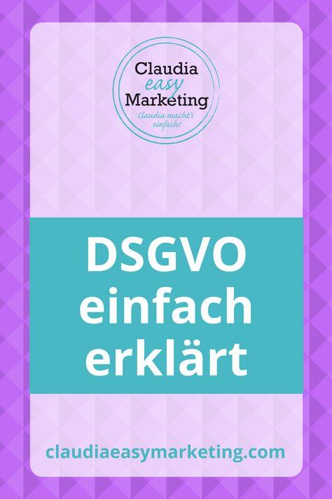 DSGVO Einfach Erklrt 9 Schritte Anleitung