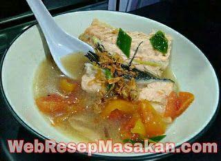 Resep Sup Ikan Salmon Kuah Bening Tidak Amis Resep Sup Resep Masakan Makanan