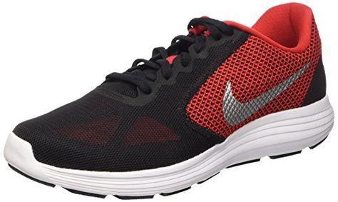 Revolution 3, Zapatillas de Trail Running para Mujer, Gris (Wolf Grey/Hyper Orange-Cool Grey), 37.5 EU Nike