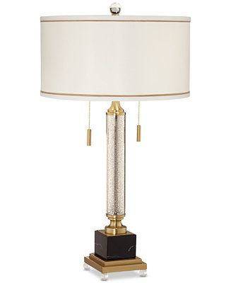 Kathy Ireland Pacific Coast Candlestick Mercury Glass 2 Light Table Lamp Reviews All Lighting Home Decor Rugs Macy S Lamp Table Lamp Buffet Lamps