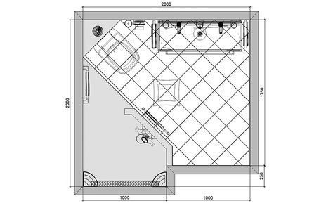 Best 20+ Badezimmer 2x2m Ideas On Pinterestu2014no Signup Required |  Fliesenfarbe Bad, Langes Schmales Badezimmer And Anordnung Von Spülbecken  Im Bad