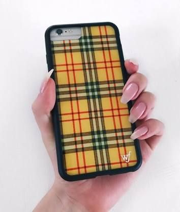 super popular 33b78 101da Yellow Checkered Wildflower Case! | A c c e s s o r i e s ✨ | Phone ...