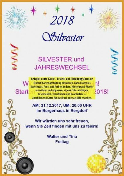 Silvester Einladung Vorlage Kostenlos Gestalten Und Drucken Silvester Einladung Vorlage Kost Invitation Template Christmas Party Invitations Party Invitations