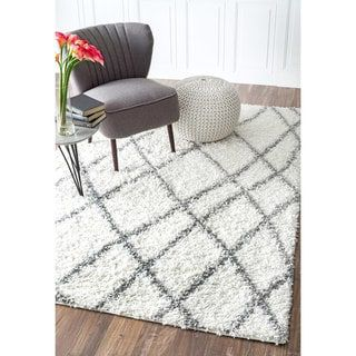 Overstock Com Online Shopping Bedding Furniture Electronics Jewelry Clothing More White Shag Area Rug Contemporary Rugs Shag Area Rug