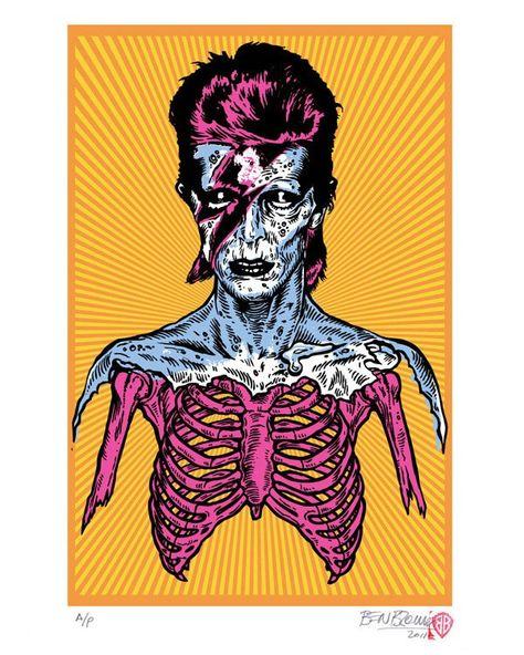 Ben Brown Bowie Print