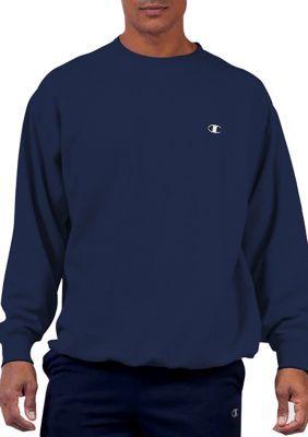 Champion Mens Big-Tall Fleece Crew Sweatshirt,