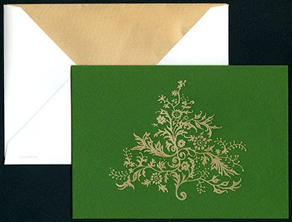 From crane a simple and elegant holiday greeting card to send your business network custom printed inside for your companys personalization