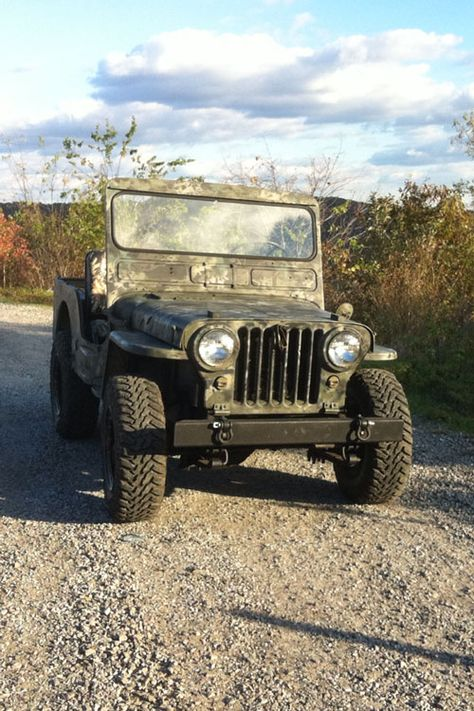 1952 Willys M38 - Photo submitted by Tim Wooldridge.