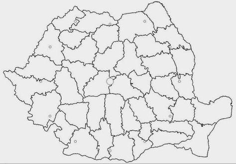 Harta Romaniei Imagini De Colorat Pentru 1 Decembrie