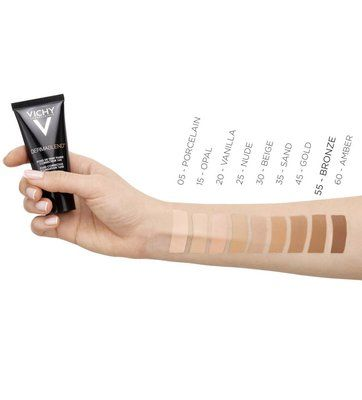 Vichy Dermablend Corrigerende Foundation 55 Bronze 30ml Vichy Dermablend Face Cleanser