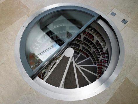 No Clue Spiral Wine Cellar Wine Cellar Underground Cellar