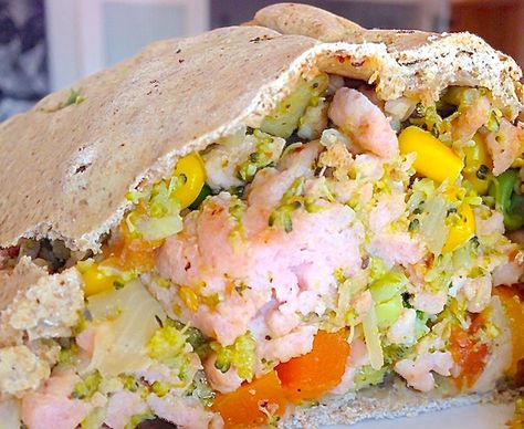 RECETA FITNESS/ Empanada de pollo