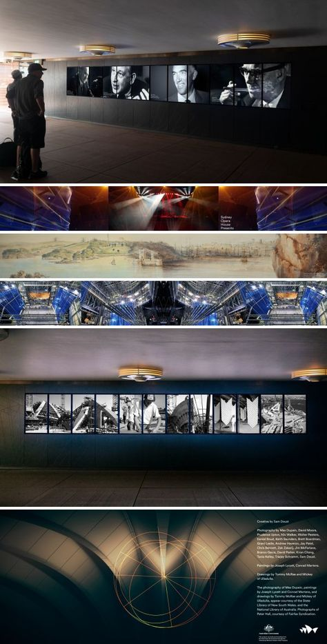 Murals - Welcome Centre Digital Mural