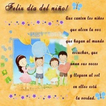 Unas Invitaciones Para El Dia Del Niño Alegres Y Sencillas