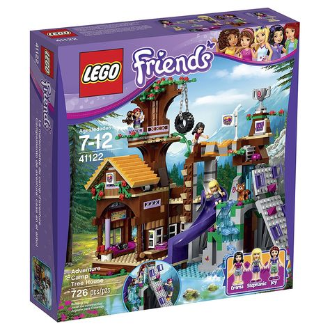 Amazoncom Lego Friends Adventure Camp Tree House 41122 Toys