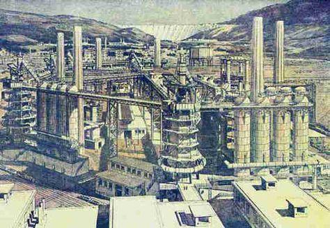 La cité industrielle de Tony Garnier