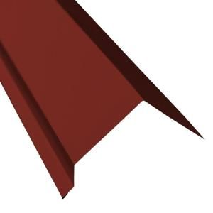 Metal Sales 12 Ft Classic Rib Steel Roof Panel In Red 2313424 The Home Depot In 2020 Steel Roof Panels Roof Panels Metal Roof