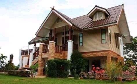 Model 13 Timber Half Rcc Frame Structure Small House Architecture Small House Images Small House Design