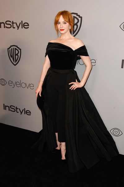 Actor Christina Hendricks attends the 19th Annual Post-Golden Globes Party hosted by Warner Bros. Pictures and InStyle.