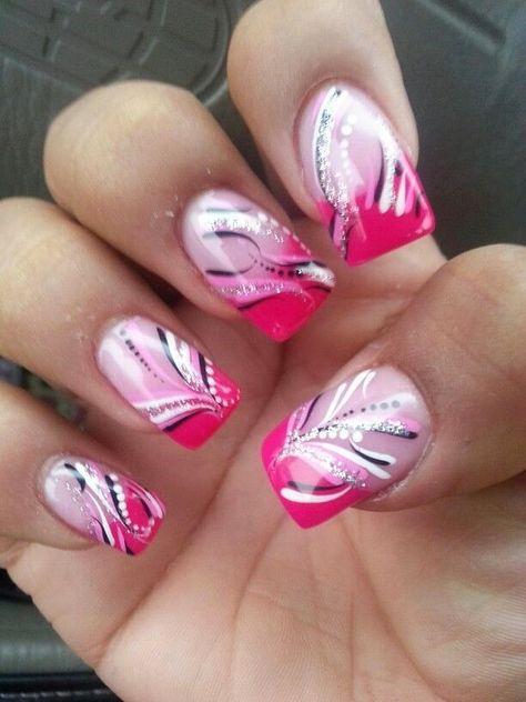 NagelDesign Elegant ( More lines ) nail art