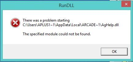 How To Fix The Specified Module Could Not Be Found In Windows Windows Registry Coded Message Settings App