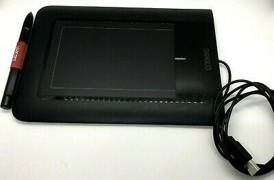 Bamboo Pen Model Ctl 460 Wacom Preowned Graphing Tablet W Pen