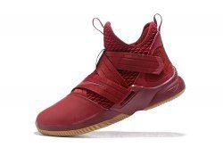 Nike LeBron Soldier 12 Wine Red Men's