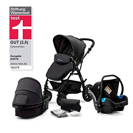 Kinderkraft Moov 3en1 Silla De Paseo De Bebe 3 Piezas Carritos De Bebé Coches Para Bebes Bebe