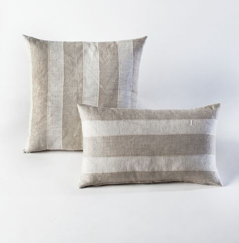 Belgian Stripes Pillow - HomeMint