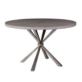 Iteration Round Dining Table Artistica 2085 870c Contemporary