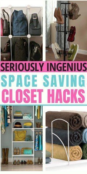 Brilliant Closet Organization Hacks Closet Hacks Diy Home Decor