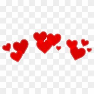 Heart Crown Cute Filter Red Remixit Freetoedit Interest Red Heart Crown Png Transparent Png Pink Heart Emoji Cartoon Heart Heart Crown